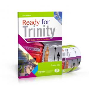 Ready for Trinity GESE Grades 3-4 and ISE Foundation podręcznik + CD