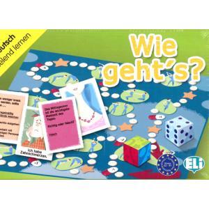 Gra językowa Niemiecki Wie geht's?