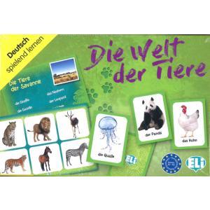 Gra językowa Niemiecki Die Welt der Tiere