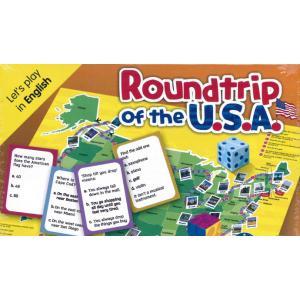 Gra Językowa. Angielski. Roundtrip of the U.S.A.