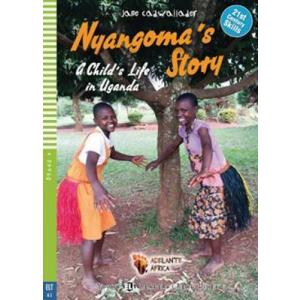 LA Nyangoma's Story - A Child's Life in Uganda książka + CD audio A2