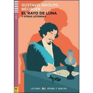 LH El rayo de luna książka + CD audio B1