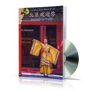 LCH Benvenuti a Pechino książka + CD audio HSK2