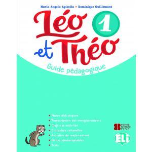 Leo et Theo 1 przewodnik metodyczny + 2 CD audio + DVD