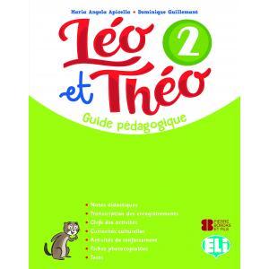 Leo et Theo 2 przewodnik metodyczny + 2 CD audio + DVD