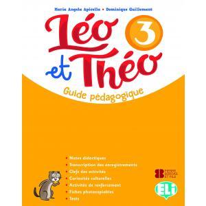 Leo et Theo 3 przewodnik metodyczny + 2 CD audio + DVD