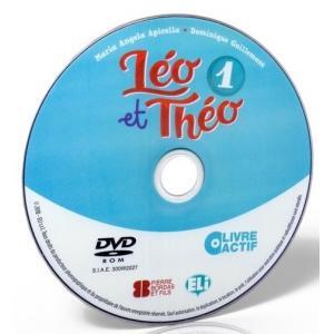 Leo et Theo 1 livre actif - podręcznik + ćwiczenia + przewodnik na DVD-ROM