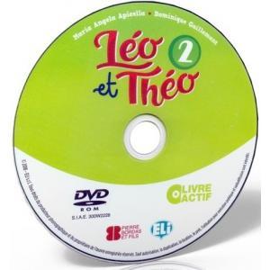 Leo et Theo 2 livre actif - podręcznik + ćwiczenia + przewodnik na DVD-ROM