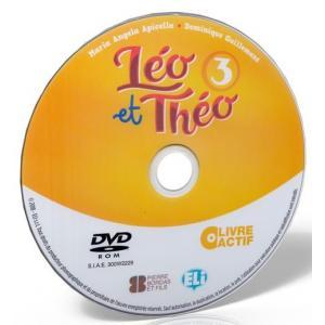 Leo et Theo 3 livre actif - podręcznik + ćwiczenia + przewodnik na DVD-ROM