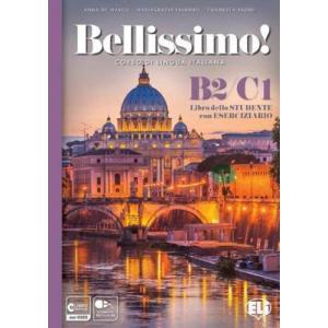 Bellissimo B2/C1 książka + ćwiczenia + dostęp online +CD