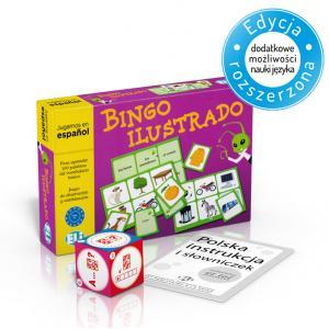 Gra Językowa Hiszpański. Bingo Ilustrado