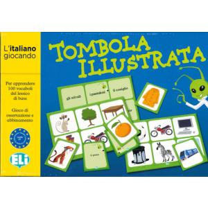 Gra językowa Włoski Tombola illustrata