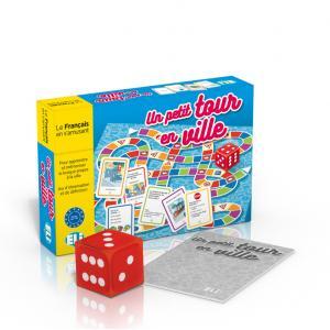 Gra Językowa Francuski. Un Petit Tour en Ville