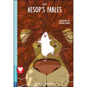 Aesop's Fables książka + audio online Kinder Garten First