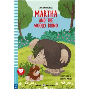 Martha and the Wolly Rhino książka + audio online Kinder Garten First
