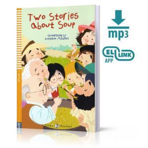 LA Two stories about soup książka + MP3 online Stage 1 A1