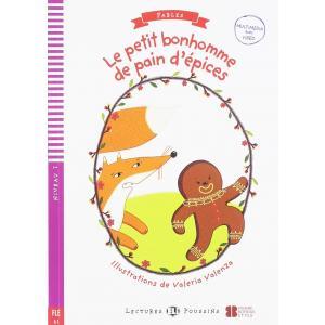 Le petit bonhomme de pain d'epices książka + audio online A1