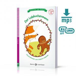 Der Lebkuchenmann + MP3 Online.  Erste ELI Lekturen. Poziom A1
