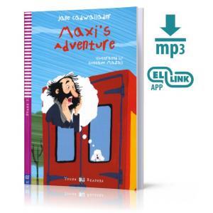 LA Maxi's Adventure książka + MP3 online Stage 2 A1