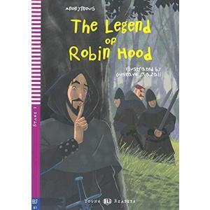 LA The Legend of Robin Hood książka + audio online A1