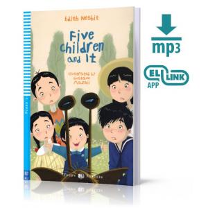 LA Five Children and It książka +MP3 online Stage 3 A1.1