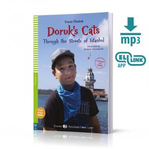 Doruk's Cats: Through the Streets of Istanbul + MP3 Online.  Young ELI Readers. Poziom A2