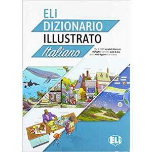 ELI Dizionario Illustrato Italiano + Książka Cyfrowa i Materiał Audio Online