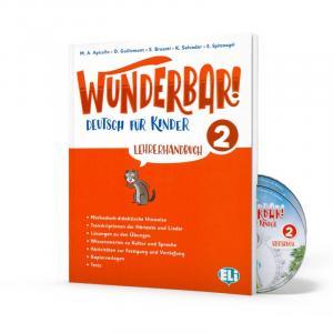 Wunderbar! 2 przewodnik metodyczny + CD