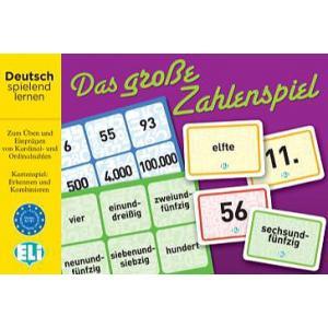Gra językowa Niemiecki Das Grosse Zahlenspiel Deutsch.