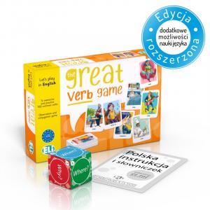 Gra językowa Angielski Great Verb Game.