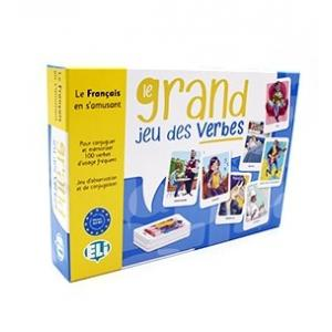 Gra językowa Francuski Le Grand Jeu des Verbes