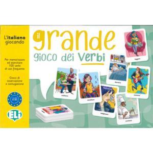 Gra językowa Włoski Il Grande Gioco dei Verbi