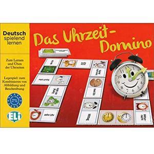 Gra językowa Niemiecki Das Uhrzeit-Domino