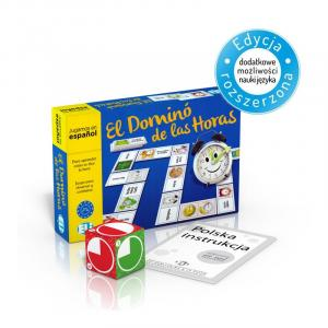 Gra językowa Hiszpański El Domino de las horas