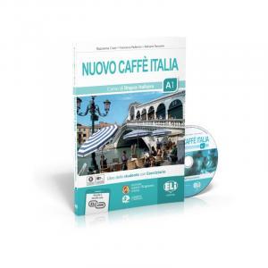 Nuovo Caffe Italia A1 podręcznik + ćwiczenia + CD + materiał online