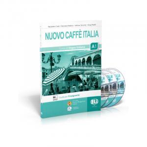 Nuovo Caffe Italia A1 przewodnik metodyczny + CD