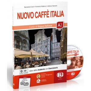 Nuovo Caffe Italia A2 podręcznik + ćwiczenia + CD + materiał online
