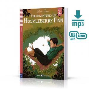 The Adventures of Huckleberry Finn książka + audio online A1