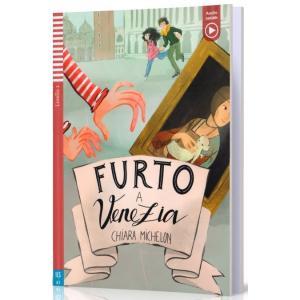 Furto a Venezia książka + audio online A1