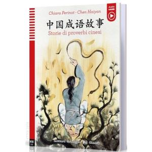 Storie di proverbi cinesi książka + audio online HSK 2-3