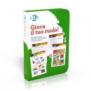 Gra językowa Włoski Gioca il tuo ruolo! - zabawa w odgrywanie ról - karty do konwersacji
