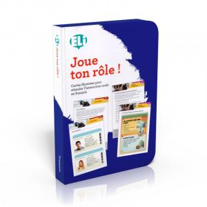Gra językowa Francuski Joue ton role ! - zabawa w odgrywanie ról - karty do konwersacji