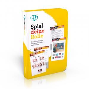 Gra językowa Niemiecki Spiel deine Rolle - zabawa w odgrywanie ról - karty do konwersacji