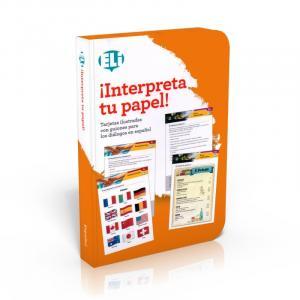 Gra językowa Hiszpański Interpreta tu papel! - zabawa w odgrywanie ról - karty do konwersacji