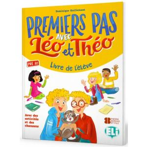 Premiers pas avec Leo et Theo podręcznik + ćwiczenia + audio online Pre A1