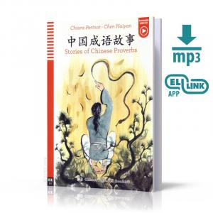 LCH Stories of Chinese Proverbs książka + audio online HSK 2-3 /wersja chińsko-angielska/