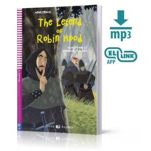 LA The Legend of Robin Hood książka + MP3 online Stage 2 A1