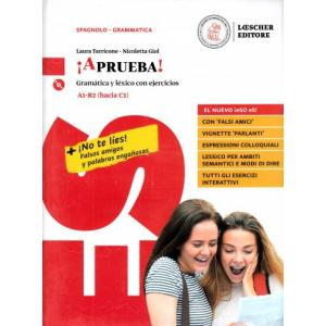 Aprueba! Gramatica y lexico con ejercicios A1-B2 (hacia C1) książka + CD