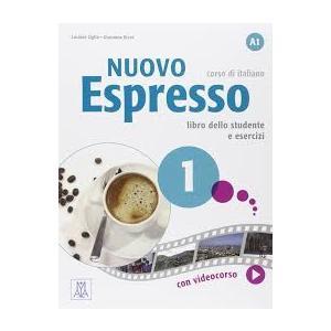 Nuovo Espresso 1 (A1). Podręcznik + Ćwiczenia + DVD
