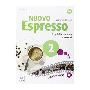 Nuovo Espresso 2 (A2). Podręcznik + Ćwiczenia + DVD